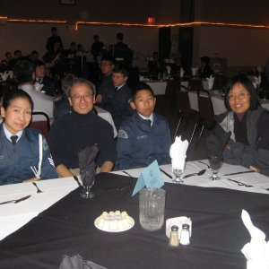 Cadet and Family Banquet 009