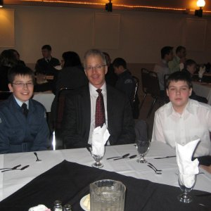Cadet and Family Banquet 011