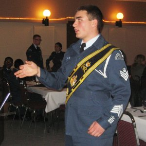 Cadet and Family Banquet 013